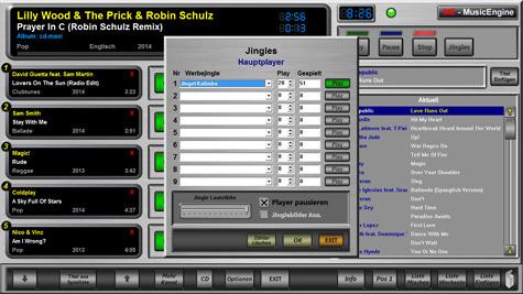 Werbejingles aus der Music Engine
