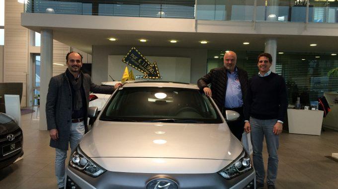 Wir Haben Unseren Fuhrpark Um Einen IONIQ – Hyundai Der Fa. LIETZ Erweitert!