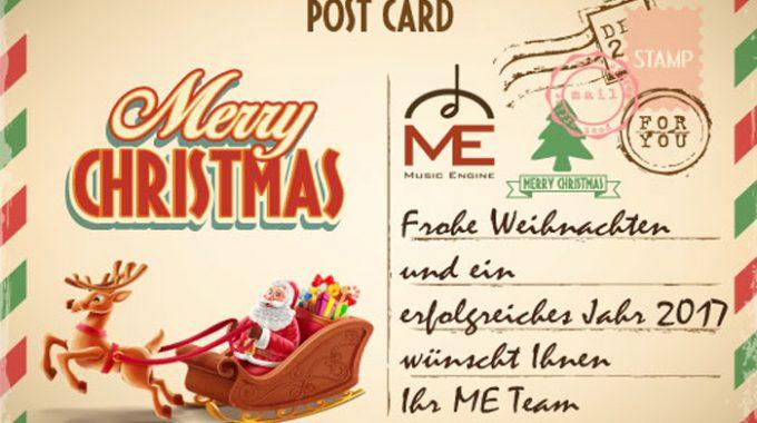 Frohe Weihnachten Wünscht Ihnen Herzlichst Ihr ME Team.