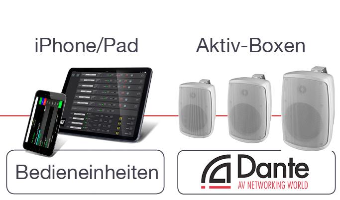 Music Engine & Dante Audio